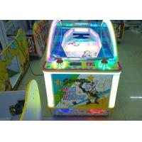 Funny Tabletop Kids Air Hockey Table Games Amusement Park Machines 1 / 2 Player Manufactures