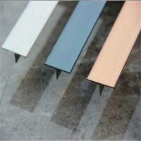 Hairline Finish Bronze Stainless Steel Trim Strip 201 304 316 For Wall Ceiling Frame Furniture Decoration Manufactures
