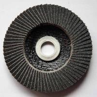 Quality Silicon Carbide Abrasive Flap Discs Conical For Angle Grinders Fiberglass Base for sale