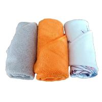 China Lint free wholesale microfiber kitchen towels and dish towels with super absorbent quality in multi colors on sale