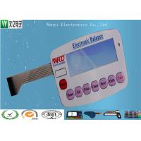China Tactile Dome Embossing Membrane Switch Keypad High Gloss for Electronic Device on sale