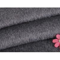 Polyester Twill Fabric Organic Wool Fabric Long / Short Hair Customized Winter Coat Manufactures