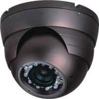 2D-DNR , HLC Dome Outdoor Security Cameras IP66-rated 3-axis Metal Case Manufactures