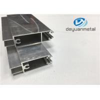 GB 5237-2008 Mill Finished Aluminium Door Frames 6000 Series Aluminium Door Profiles Manufactures