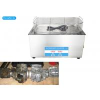 China 40KHz Heated Ultrasonic Parts Cleaner , Ultrasonic Cleaner For Motorcycle Carbs on sale
