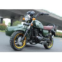 China Off Road Side Car Electric 3 Wheel Motorcycle Air Cooled CDI Ignition For Delivery on sale
