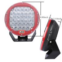 10'' Inch Round 225w Car LED Fog Lights Truck Driving Light Forest Bottom Manufactures