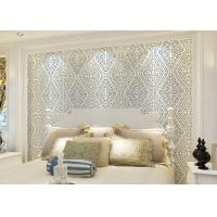 Wet Embossed Nonwoven Modern Removable Wallpaper Geometric Sound - Absorbing Manufactures