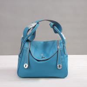 women high quality 30cm 26cm lychee leather handbags jean blue designer bags M-G02-23 Manufactures