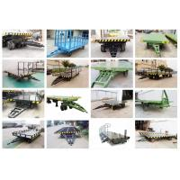 1-200 ton heavy duty industrial trailer towed by forklift free turning trackless transfer trailer