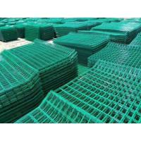 Quality Aging Resistance Weld Mesh Fence Panels , Powder Coated Wire Mesh Panels For Building for sale