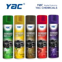 Car Care Car Dashboard Wax Aerosol Spray with High Shine for Leather Cleaning Manufactures