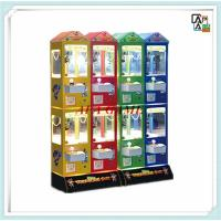 Colorful multi player family entertainment arcade indoor amusement candy plush toy game machines Manufactures