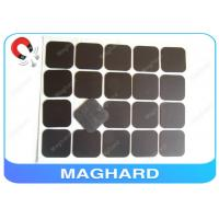 China Square Flexible Rubber Magnet Sheets With Adhesive Diecut 4R 45 * 45 * 0.8mm on sale