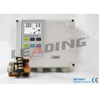 Durable Single Phase Pump Control Panel , Duplex Pump Controller With One Push Button Calibration Manufactures