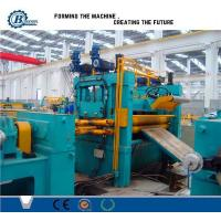 0.3 -1.2mm Roll / Coil / Sheet Metal Slitting Line Machine With 4Kw Hydraulic Station Power Manufactures