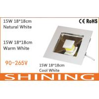 ROHS Approved 15watt 1200Lm Airports COB LED Downlight 75 CRI 50000h Manufactures