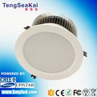 China Round Shape commercial lighting Dia 200mm/225mm/270mm high power recessed led downlight  60W 80W 100W on sale