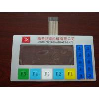 China OEM Tactile Touch Screen Waterproof Membrane Switch keypad With Clear Window on sale