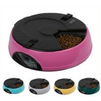 China 6 Meal Automatic Pet Feeder With CE&RoHS Certification on sale