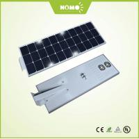 60w LED integrated solar street light with cob LED chip 130 lumen /w over all Manufactures
