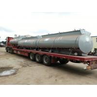Chemical Road Tankers For Hydrochloric Acid With Steel Lined PE 16mm -18mm Tank Body Manufactures