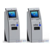Network Barcode Reader Payment ATM Kiosk With Touch Pad Use In Shopping Mall Manufactures