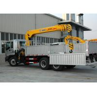China 10T XCMG Mobile Telescopic Boom Truck Mounted Crane With Wire Rope on sale