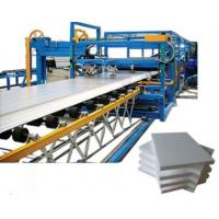 China Rock Wool Polyurethane Sandwich Panel Machine Composite Board Making European on sale