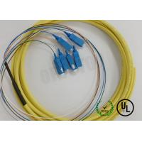 Buy cheap 900UM SC / UPC Connector Simplex Pigtail Single Mode 6 Fiber 24 IN OFNR from wholesalers