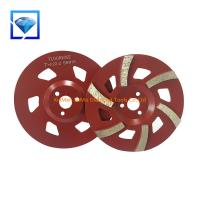 China Concrete Grinder Cup Wheel Grinding Disc Connection Hole Diameter 22.23mm on sale