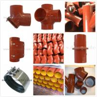 china supply EN877 epoxy cast iron pipes and fittings Manufactures