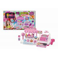 China Ice Cream Store Electronic Cash Register Toy for Children with Sound & Light on sale