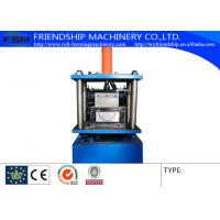 Half Round Gutter Roll Forming Machine Automatic Length Measuring Manufactures