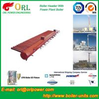Buy cheap Water Tube Boiler Header Manifolds TUV Standard , Water Boiler Header from wholesalers