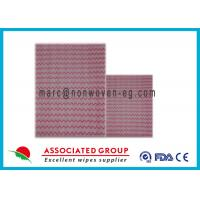 Quality Surface Non Woven Cleaning Wipes , Disinfecting Cleaning Wipes Highly Absorbent for sale