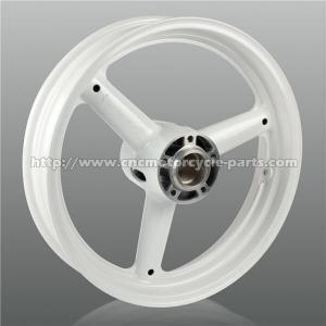 China Precise Suzuki Motorcycle Wheels , Motorcycle Wheel RimsWith Aluminum Hubs on sale