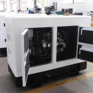 EPA Tier 4 Certification 30kva Silent Diesel Generator DSE 7320 MCCB Circuit Breaker Manufactures