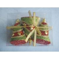 China Christmas Foam Bell Hanging Ornament on sale