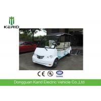 Battery Powered Electric Shuttle Car 8 Seats For Real Estate / Tourist Attractions Manufactures