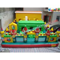 Giant Inflatable Amusement Parks Customized For Events / Festivals Manufactures