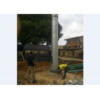 China Outdoor Monopole Telecom Tower  Flanged or Overlap Type Telecommunication Tower on sale