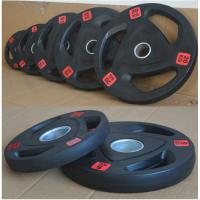 Rubber Weight Plates Fitness Equipment Accessories Environmental Friendly Material Manufactures