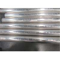 China Bright Surface Nickel Alloy Pipe ASTM B163 UNS N02200 Stable Performance on sale