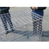 China Durable Retaining Wall Gabion Baskets 60 * 80 / 80*100 Mm Easy To Install on sale