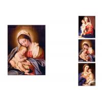 Buy cheap 0.6mm PET Flip Religion Virgin Mary / Jesus 3D Lenticular Images For Wall Decro from wholesalers