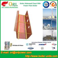 Natural Gas Boiler Water Wall Panels Boiler Spare Part ASME Standard Manufactures