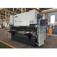 Electrical Sheet Metal Press Brake Machine , Hydraulic Brake Press Machine 24000kg Manufactures