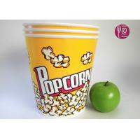 130 Ounce Custom Disposable Paper Popcorn Bucket For Fast Food Manufactures