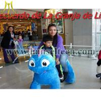 Hansel animales montables riding dinosaur toys dinosaur animal rides for shopping mall Manufactures